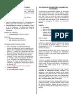 Requisitos certificado médico y policial