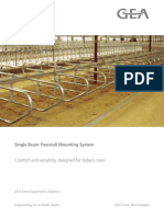 DairyFarming Single Beam Freestal Mounting System Brochure en 0315 Tcm25-21186