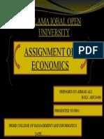 Title Page of Economics