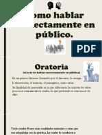 COMO HABLAR CORRECTAMENTE EN PÚBLICO..pptx