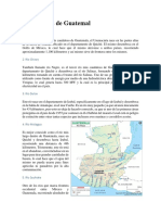 Ríos y Lagos de Guatemal