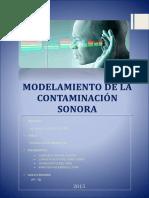 Modelamiento de Contaminacion Acustica en El Anexo-08, UNFV.