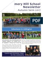 Amery Hill School Newsletter Autumn Term 2017