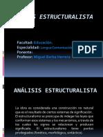 Análisis Estructuralista 01