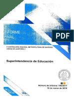 Fiscalización de Recursos Financieros superintendenci educcion