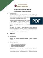 Plan de Leccion 1 - Metodo Matricial I