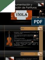 Ricardo García - Instrumentación y Preparación de Partituras (Viola)