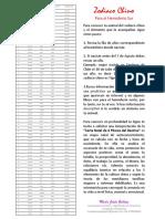 Lista Signos Horóscpo Chino María Jesús Gallego