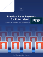 Uxpin Practical User Research for Enterprise Ux
