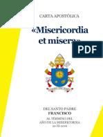 """Misericordia et Mísera"""