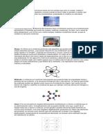 Fenómenos físicos quimica