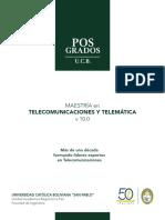 Maestria en Telecomunicaciones