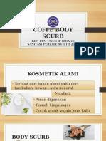 Coffe Body Scurb