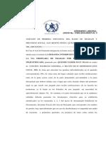 5) Resolucion de Admision de Demanda