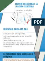 explicacion religiosa y explicacion cientifica