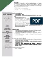 Curriculum Alejandro 2018 Uno