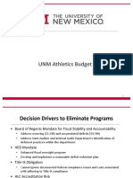 UNM Athletics Budget (1)