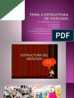 Tema 4 Estructura de Mercado