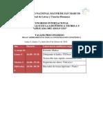 Programa Final Congreso