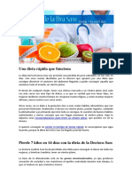 Dieta Doctora Sass