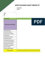 Aplikasi Manual Menghitung IKS Tingkat RW 1