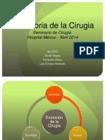 Historía de la cirugía