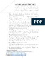 Chile Access to Justice - Updated Sep 2015