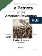001. Patriots of the American Revolution