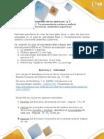 Formato -Paso 1 de Ejercicio 1-2