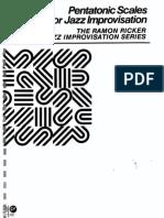 RICKER, Ramon - Pentatonic Scales For Jazz Improvisation -.pdf