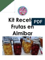 Kit Recetas Frutas en Almibar