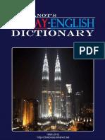 Bhanot DR. Malay English Dictionary