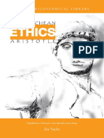 Aristotle - Nicomachean Ethics (Translated by Joe Sachs) (1)