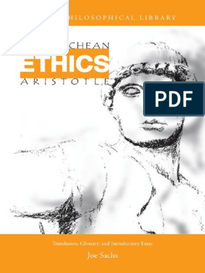 Aristotle - Nicomachean Ethics (Translated by Joe Sachs) (1