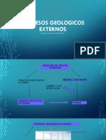 Semana 4,Procesos Geológicos Externos