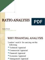 Ratio Analysis Rucha Trivedi