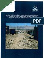 4128 Informe de Evaluacion de Riesgo Por Flujo de Detritos en El Centro Poblado de San Jacinto Distrito de Nepena Provincia Del Santa Departamento de Ancas