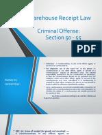 Warehouse Receipt Law