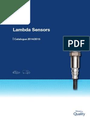 LEON TOLEDO 1.6 AUS AZD BCB Sensore Lambda 4 Fili
