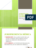 Forense Jonathan Dominguez