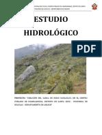 ESTUDIO HIDROLÓGICO