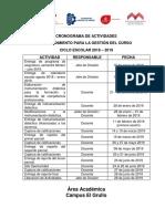 Cronograma GestiondelCurso Feb- Ago19