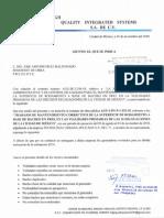 Oficio Informe Con Irregularidades