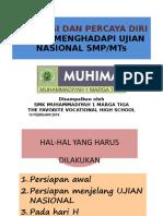 Ujian Nasional Smp.smk Marga Tiga