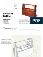 Dovetailed Tool Box