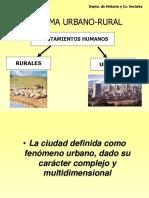 Ciudad Medio Urbano Rural