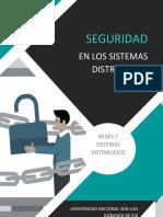 Seguridad en Los Sistemas Distribuidos