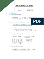 Formulario Matematica Financiera