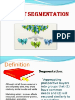 Market Segmentation (DS)
