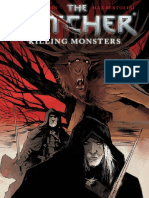 The Witcher Killing Monsters Comic Español